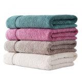 100%年の綿柔らかいY/Dの縞の浴室タオルのビーチタオル