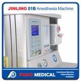 Jinling-01b Modelo padrão Máquina de anestesia Equipamento médico