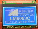 128X64 도표 LCD 디스플레이 이 유형 LCD 모듈 (LM6063) 매우 경조