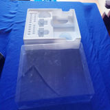 Het witte Dienblad van de Blaar van pvc voor de Producten van de Gezondheidszorg Geplaatst die het Dienblad van de Blaar voor de Producten van de Gezondheidszorg wordt geplaatst