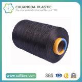 Filato nero 100% della tessile 900d FDY pp per la torsione legata