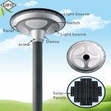 UFO-bunte Beleuchtung-integriertes Solargarten-Licht