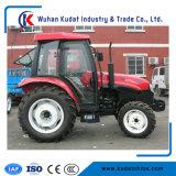 50HP de Tractor van het landbouwbedrijf met de Lader van het VoorEind