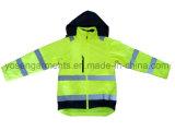 1 안녕 즉 남자의 사려깊은 안전 방어적인 재킷 의복 방수 작업복에 대하여 5