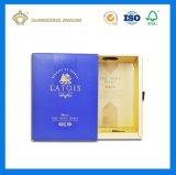Bouteille de vin de haute qualité Boîte en carton de boîte à carton (boîte à vin de marque)
