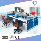 Poste de travail neuf de meubles de bureau de conception des prix inférieurs avec la couleur mélangée