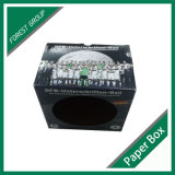 Rectángulo de empaquetado del balompié acanalado con la ventana del PVC (FP8039121)