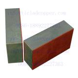 Plaque en tôle d'acier revêtue de cuivre pour cuivre hydrométallurgique