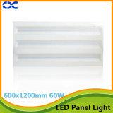 iluminación del panel ligera del panel LED del Ce 60W LED de 600X1200m m