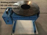 Plataforma giratória de solda certificada Ce HD-10/30/50/100/200/300/600 para a soldadura circular