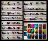 Lentilles polarisées par lunettes de soleil de sports pour des lunettes de soleil de marque de Moccy d'espion dans nous et la norme d'UE