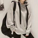 Дешевый свитер вскользь Средств-Длиннего типа людей/женщин личности способа с капюшоном