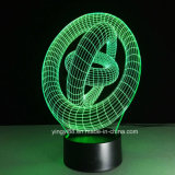 Las más nuevas luces de la noche del acrílico 3D LED - lámpara de escritorio de la ilusión 3D