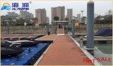 Embarcadero flotante del puerto deportivo con el pontón calificado de la aleación de aluminio