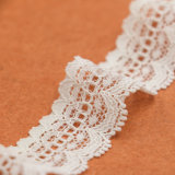 方法服のための最上質の白いナイロンレースのトリム