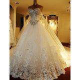 Klicken für mehr Modell-Basisrecheneinheits-Nixe Kugel-Kleid Hochzeits-Kleid (Dream-100085)