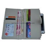 Бумажник женщин типа платы кожаный карточки PU организуя