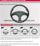 Dekking van het Stuurwiel van de Auto van pvc van het Ontwerp van de Verkoop van Amerika de Hete