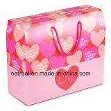 Caja de embalaje acanalada coloreada impresión superior de la venta para el item del conjunto de los productos