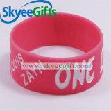 Fabriquez directement des bracelets en caoutchouc larges imprimés personnalisés