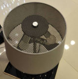 Wundervoller Entwerfer-modernes justierbares Schlafzimmer-Metallschreibtisch-Tisch-Lampen-Licht im Schwarzen für Anzeige, mit Gewebe-Farbton