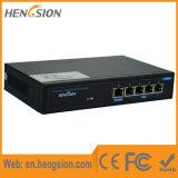 Interruptor de la red de Ethernet de la empresa del Poe de 5 accesos del Megabit
