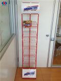 Heiße Verkaufs-Metallbildschirmanzeige-Zahnstange für Biskuite, Süßigkeit, Imbiß