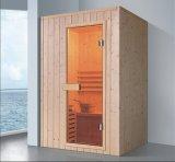 1200mm de Stevige Houten Sauna van de Rechthoek voor 2 Personen (bij-8628)