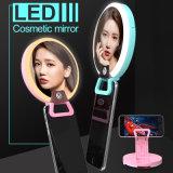 Luz cosmética del terraplén del espejo del LED Selfie