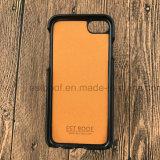 Вспомогательное оборудование мобильного телефона Flip бумажника неподдельной кожи