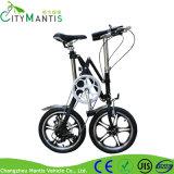 Складывая электрический велосипед с 7 скоростями