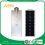 Indicatore luminoso di via domestico solare economizzatore d'energia di induzione del sensore del giardino IP65 20W 30W 40W 60W PIR tutto in uno