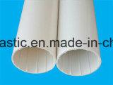 Pipe spiralée intérieure d'évacuation de mur creux de PVC-U