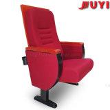 형식 디자인 단 하나 다리 강철 교회 의자 판매가 검증된 고밀도 갯솜 방석 ISO에 의하여 Retardent 직물 타오른다