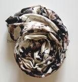 modo signora stampata viscosa Scarf (HWBVS045) di Tublar/infinità