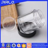30g löschen Haustier-Plastikglas mit schwarzer Überwurfmutter für das kosmetische Sahneverpacken
