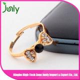 Los últimos anillos hermosos de las señoras del diseño de los anillos de oro para las mujeres