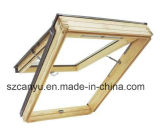 Qualitäts-hölzernes zusammengesetztes Oberlicht-Aluminiumfenster