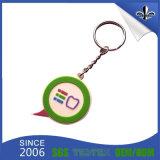 Kundenspezifisches Keychain mit geprägtem Belüftung-Firmenzeichen