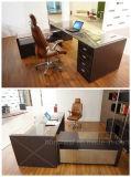 Neue Art-moderner Leder MDF-Büro-Schreibtisch (AT018)