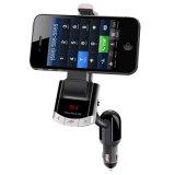 Drahtloser FM Übermittler des Bluetooth Auto-mit Telefon-Halter