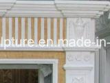 Естественная каменная рука высекла крытый мраморный Surround камина (SY-MF117)