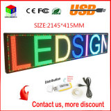 P6 a todo color 2145X415mm RJ45 y USB programable balanceo Información P6 interior pantalla LED
