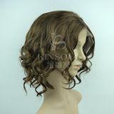 Парики 100% шнурка человеческих волос передние (Kinsofa 247214)