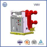 Pólo montou o disjuntor Withdrawable do vácuo de 630A 7.2kv Vmv