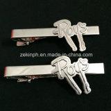 Изготовленный на заказ серебряные зажим связи/штанга связи для сувенира