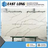 Vente en gros en pierre artificielle de partie supérieure du comptoir de brame et de quartz de pierre de quartz de Calacatta