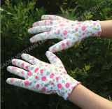 Le jardin Natrile a enduit les gants protecteurs de travail de travail de sûreté de gant (N6005)