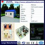 Maisons modulaires de maison de Maison-Construction préfabriquée d'histoire modulaire préfabriquée de Cabines-Deux