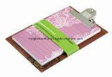 Alta qualidade impressa Kraft Cover Clipboard Notepad